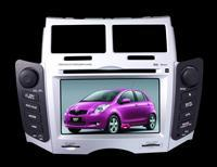 Quality TOYOTA YARIS car dvd player with gps radio tv bluetooth rds ipod slot wholesale