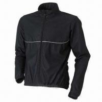 Quality Bicycle jacket with EN471 reflective piping wholesale