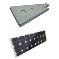Quality Waterproof Solar Powered Led Street Lights 60W With  Intelligent Light Control wholesale