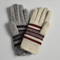 2015 polyester acrylic Knitted Gloves Touch screen Knit gloves Winter gloves