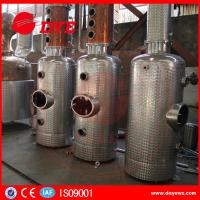 Quality Beautiful Design Copper Distiller Gin Distillery Machine With Gin Baskey wholesale