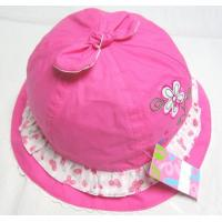 China Summer cotton baby hats or kid hats on sale