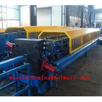 Quality Square Downspout Roll Forming Machine Electrical For Rainwater Pipes wholesale
