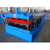 Quality Fully Automatic Sheet Roll Forming Machine For Steel Floor Decking W Profile wholesale
