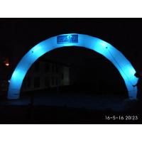 Cheap Amazing Giant Round lighting Inflatable Arch with Logo For Night Party, Event for sale