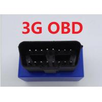 Quality Vehicles / Car 3G GPS Tracker OBD With Rechargeable 3.7V 350mAh Li-ion Battery wholesale