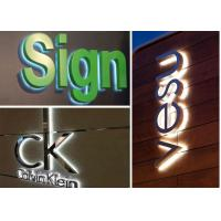 Professional Design Solution for Metal / Acrylic Illumination led Stainless
