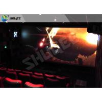 Quality Children Amusement 4D Cinema Movie Theater With Electric System Motion Seat CE wholesale