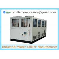 Buy cheap 50C Working Ambient Temperature 250KW Air Cooled Screw Water Chiller for ECM from wholesalers