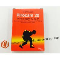 Quality Western Medicine Piroxicam Usp 20mg Pharmaceutical Capsules ( Non Steroidal Antiinflammatory Agent With Analgesic ) wholesale