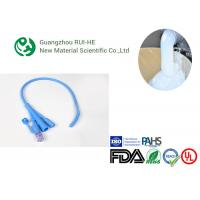 China Injection Produce Medical Grade Silicone Rubber High Thermal Stability For Medical Tube on sale