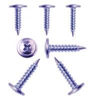 China Carbon Steel Alloy Steel Zinc / Galvanized Metal Screws Wafer Head Corrosion Resistance on sale