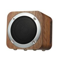 Quality Wooden Wireless Bluetooth 4.0 Speaker Loudspeakers  Stereo Bass Surround Subwoofer TF FM Wood Speaker wholesale