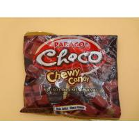 Quality Strong Cube Shaped Chewy Milk Candy / Candies Choco Flavors Fast Shipment wholesale