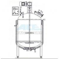 Quality Softgel Gelatin Stainless Steel Service Tank Blending Vessel For Pharmacy Production wholesale