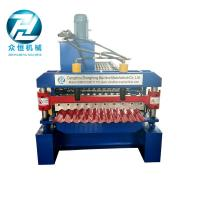 Quality Easy Operate Corrugated Roll Forming Machine / Corrugated Roofing Sheet Making Machine wholesale