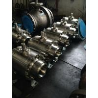 China API 6D ISO 17292 Side Entry Ball Valve Trunnion Mounted RF Flange WCB A105 LCB LF2 CF8 F304 CF8M F316 on sale