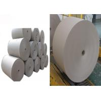 China Smoothy surface Grey Paper Roll used for lamination with different paper board on sale