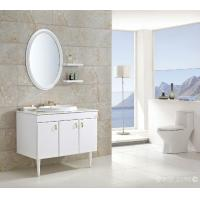 Quality 100 X 48 / cm rectangular sink bathroom vanity floating acrylic - resin counter top wholesale