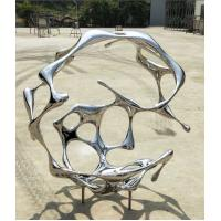 Cheap Contemporary Outdoor Garden Ornaments Stainless Steel Sculpture For Public for sale