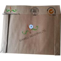 Cheap Kraft Paper Custom Printed Business Envelopes With String Closure Accordion Shape for sale