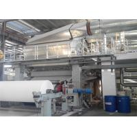 Quality Single Wire Tissue Paper Making Machine Toilet Roll Manufacturing Machine wholesale