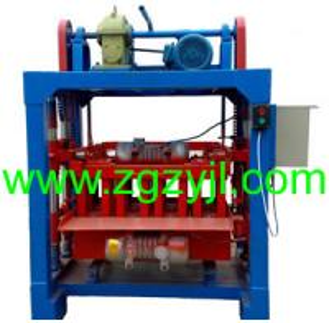 China concrete block machine factory on sale