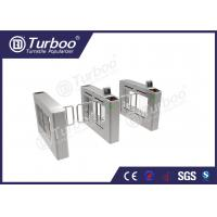 Quality Access Control System Pedestrian Barrier Gate , Stainless Steel Swing Gate wholesale