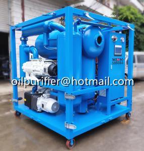 transformer oil filtration machine specifications,transformer oil purification machine, Fr3 Oil Purifier Manufacturer