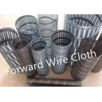 Buy cheap Round Hole Perforated SS 316 / 304 Carbon Steel Spiral Welded Tube Galvanized product