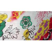 Quality Novelty Silk Screen Printed Knit Fabric For Toy , Organic Cotton Voile Fabric wholesale