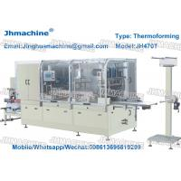 Buy cheap Plastic Thermoforming machine for Food trays/egg trays within cutting and stacking device product