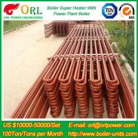 Quality 80MW Petroleum Industry CFB Boiler Superheater OEM TUV Superheater In Boiler wholesale