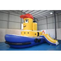 Quality Heat Resistant Swimming Pool Tug Boat Inflatable Water Sport wholesale