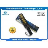 Quality High Sensitivity Handheld Security Scanner / Hand Held Body Scanners Used In Airport wholesale