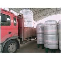 Quality Vertical Compressed Oxygen Storage Tank 110 Degree Operating Temperature wholesale
