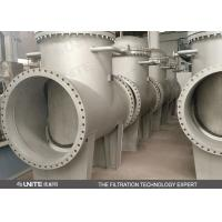 Quality 60 Mesh T Type pipeline filter for Coke Oven Gas Filtration wholesale