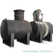 10 - 100ton Gasoline Underground Storage Tank Customize Vertical Horizontal (Carbon Steel or Stainless Steel Petrol Diesel Fuel Oil)