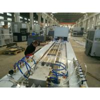 Quality Super Pvc Profile Extrusion Line , Pvc Profile Extrusion Machine For Folding Door Making wholesale