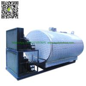Quality Stainless steel Milk Cooling Tank  Body For Lorry Trucks  8CBM- 25CBM wholesale