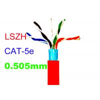 Cheap Cat5E FTP Copper Lan Cable Common Computer 24AWG Indoor LSZH Network Shiled for sale