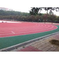 Quality Anti - Shock Polyurethane Rubber Running Track Surface / Jogging Track Material wholesale