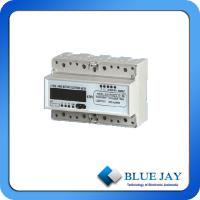 Quality LCD Display Three Phase DIN Rail Multi Rate Mini Power Meter wholesale