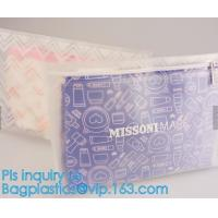 Quality Cheap Frosted PVC Zip Lock Document Bag With Customized Logo,A4 PP /PVC Plastic clear File Folder/Document Bag with Fast wholesale