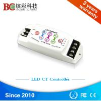 Quality DC5V DC24V 8A 2 channels Touch Panel LED CCT Controller; Color Temperature dimmer wholesale