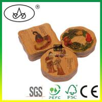 China China Eco-Friendly Dining Bamboo/Wooden Lace Table Mat with cheap price on sale