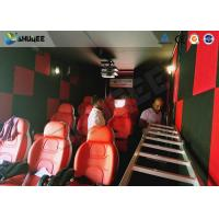 Quality 9D Cinema Simulator XD Theatre With 360 Degree VR Glasses / Motion Chair wholesale