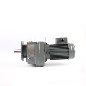 China Ratio 1:3 Helical Gear Motor Flange Mounted Hollow Shaft Gear Motor on sale