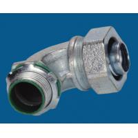Quality Waterproof Malleable Iron Fittings 90 Degree Liquid Tight Connector Fire Resistance wholesale