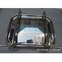 Quality Industrial Stainless Steel Food Production Used Tank Manhole Rectangle Manhole wholesale